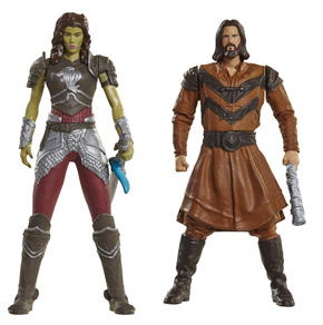 Pack de figurines Lothar et Garona