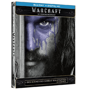 Warcraft: Le Commencement Blu-Ray Steelbook