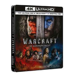 Warcraft: Le Commencement 4K Ultra HD + Blu-ray