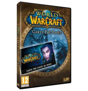 Carte pé-payées 2 mois pour World of Warcraft