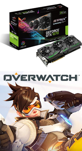 Asus GeForce GTX 1070 + Overwatch