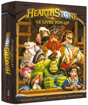 Hearthstone - Le livre pop-up