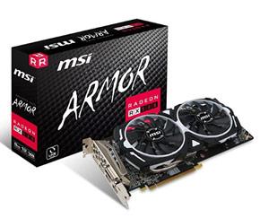 MSI AMD Radeon RX 580 Armor 8 Go OC