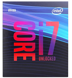 CPU Intel Core i7 9700K Coffee Lake