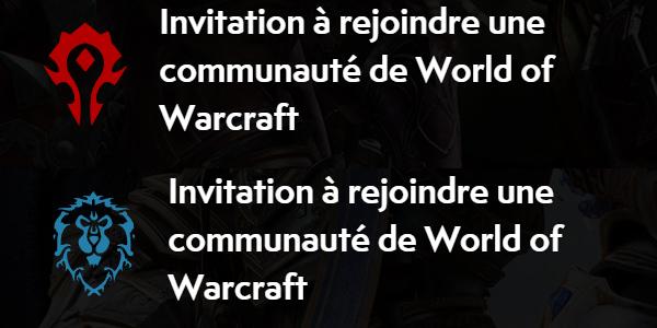 Communauté JH sur WoW