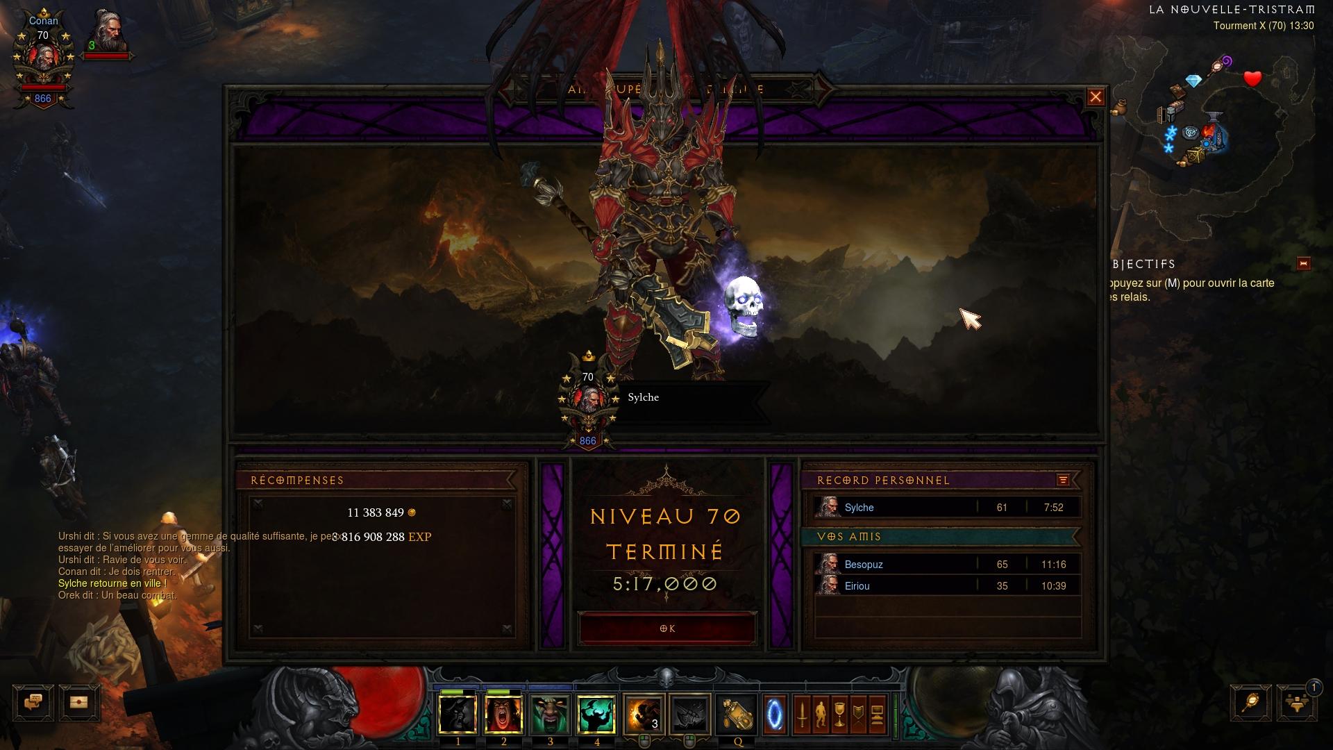 Top Build Barbare Diablo