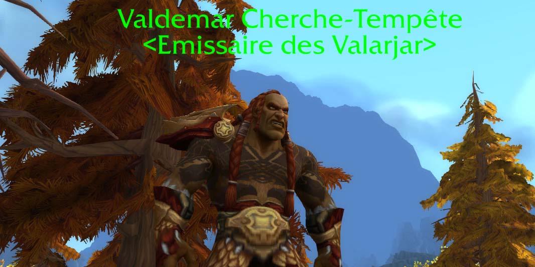Valdemar Cherche-Tempête, émissaire des Valarjar