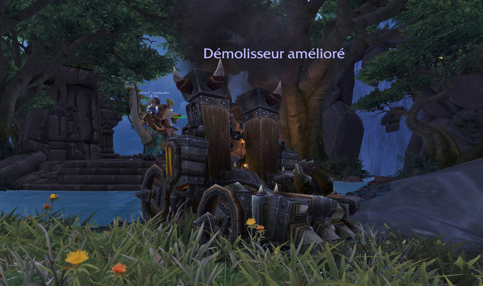Carte Au Tresor Grabuge Sur Lile Des Sables Noirs.Battle For Azeroth Les Iles Inexplorees World Of