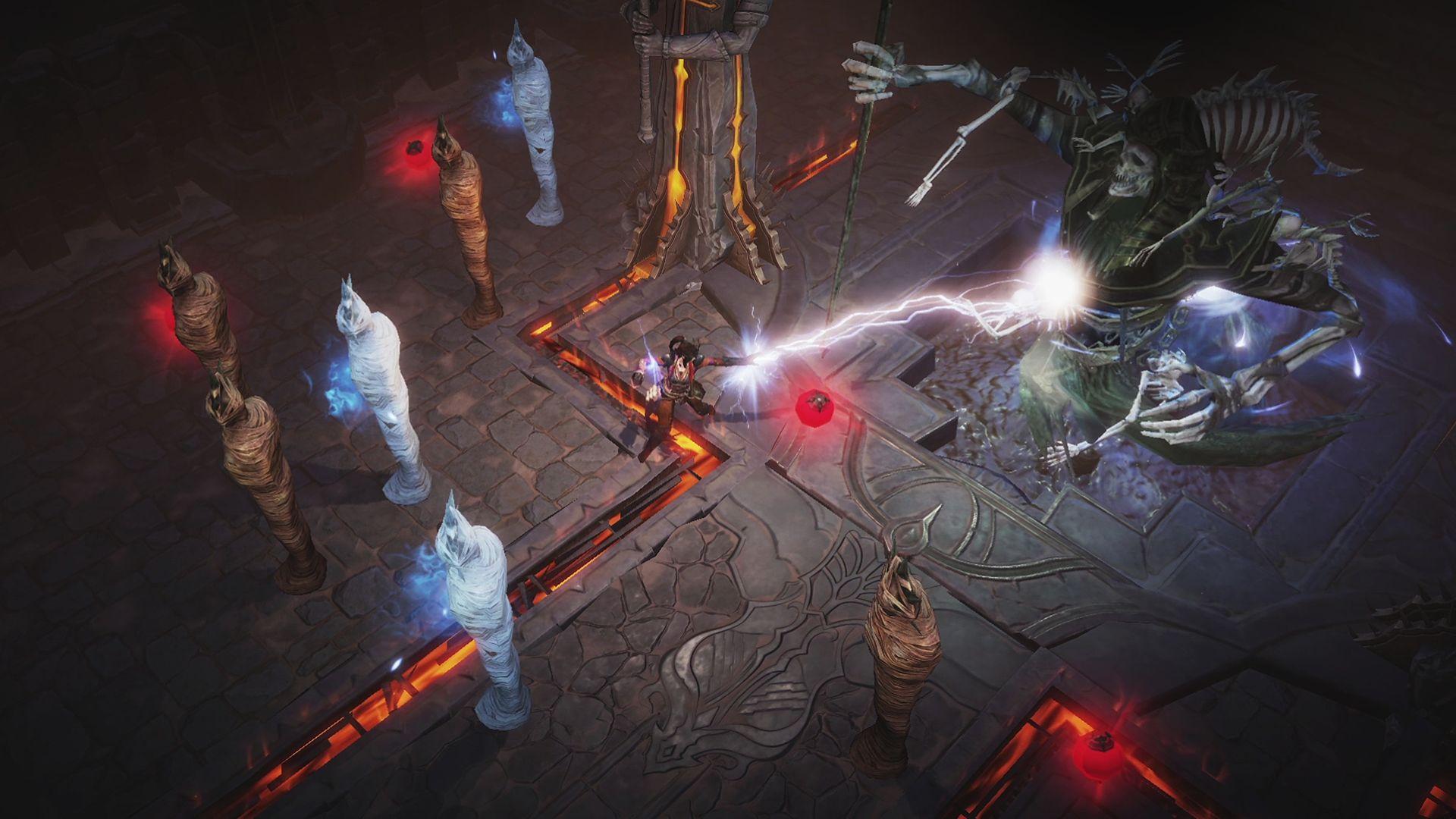 Diablo Immortal - Gameplay del Mago
