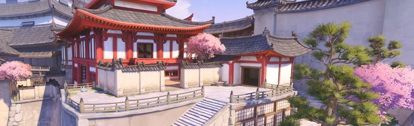 La Carte D Hanamura Reproduite Dans Minecraft Overwatch Judgehype