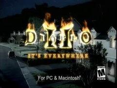 Spot publicitaire déjanté pour Diablo III (vrais acteurs)