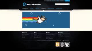 Une vache de l'espace sur le site de Battle.net