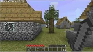 Tristram et Diablo I reproduits dans Minecraft