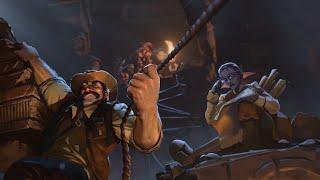 La Ligue des explorateurs : la cinématique