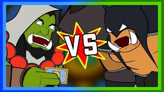Thrall vs Rexxar : leur duel déjanté