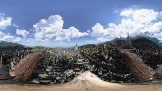 Une vue à 360° du monde d'Azeroth